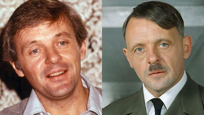 Энтони Хопкинс сыграл Гитлера в фильме *Бункер*, 1981 | Фото: kino.mail.ru